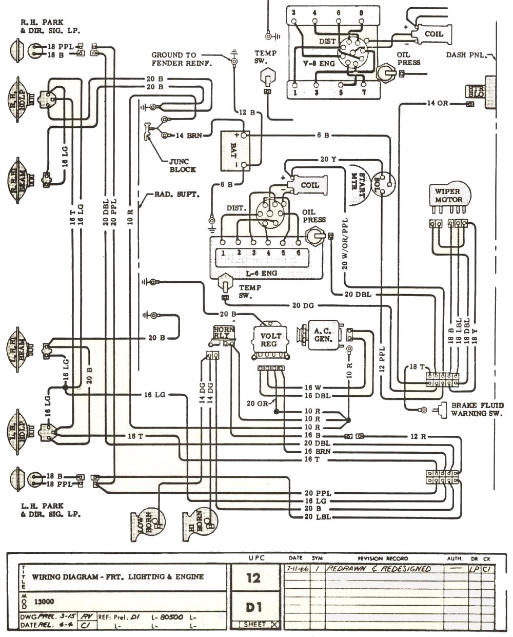 Wiring Diagram For 1966 Chevelle The wiring diagram – 1969 Chevelle Wiring Diagram
