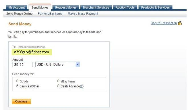 paypal how to change primary address