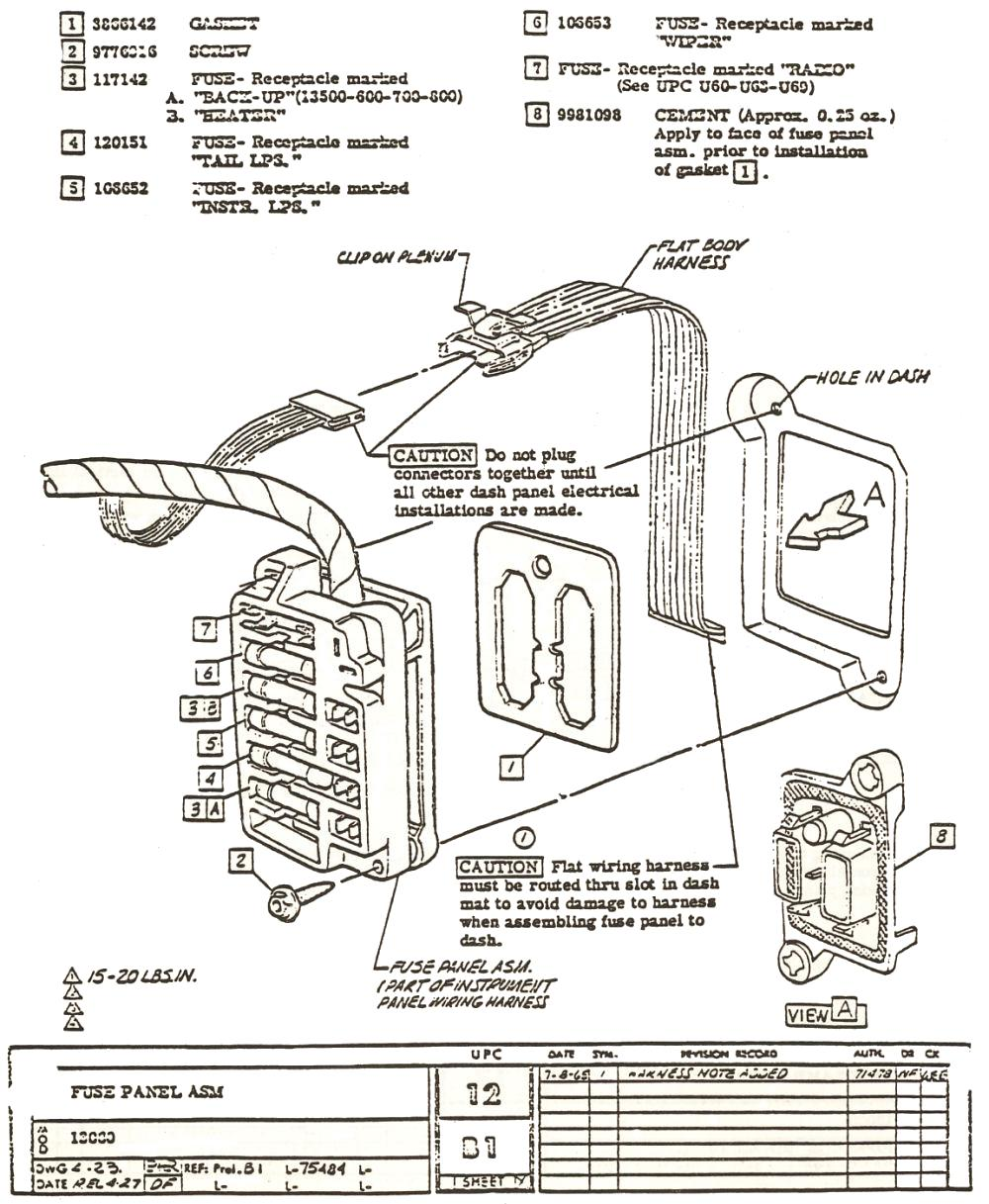 1968 chevy nova fuse box  1968  free engine image for user