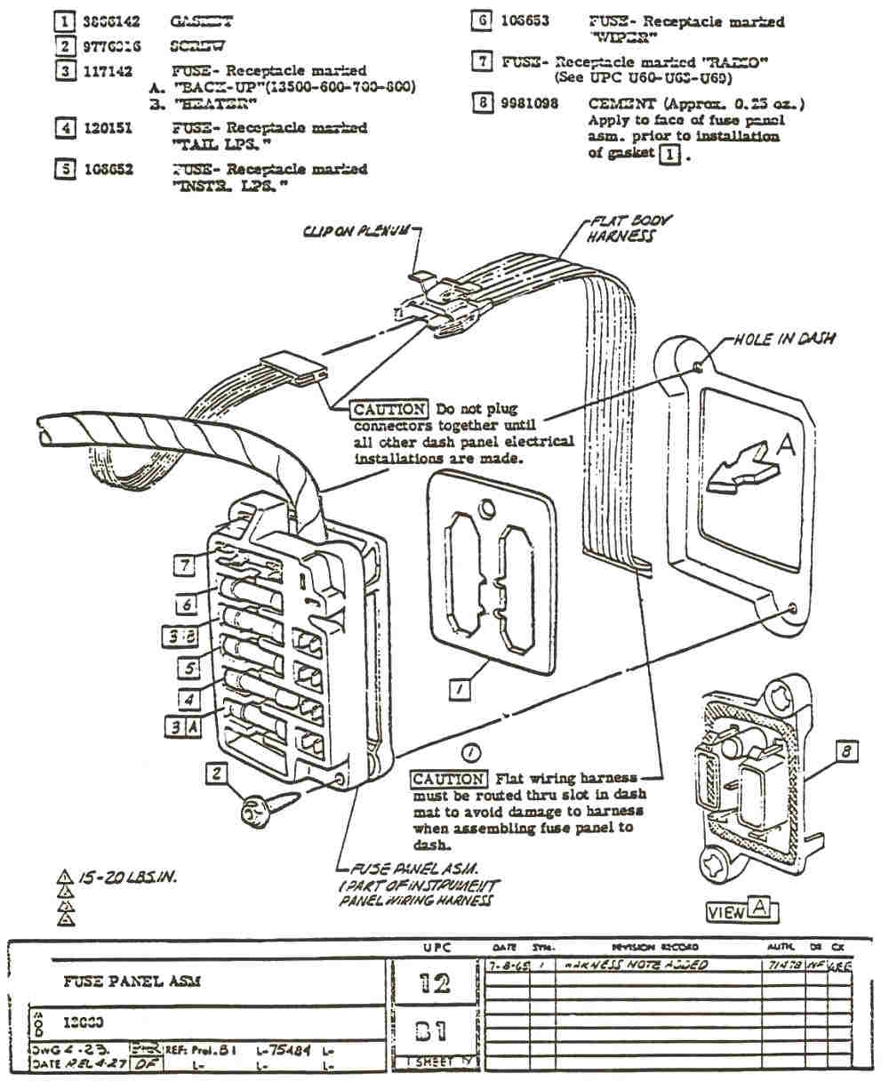68 Nova Fuse Box Diagram Another Blog About Wiring 67 Chevelle 20 Images