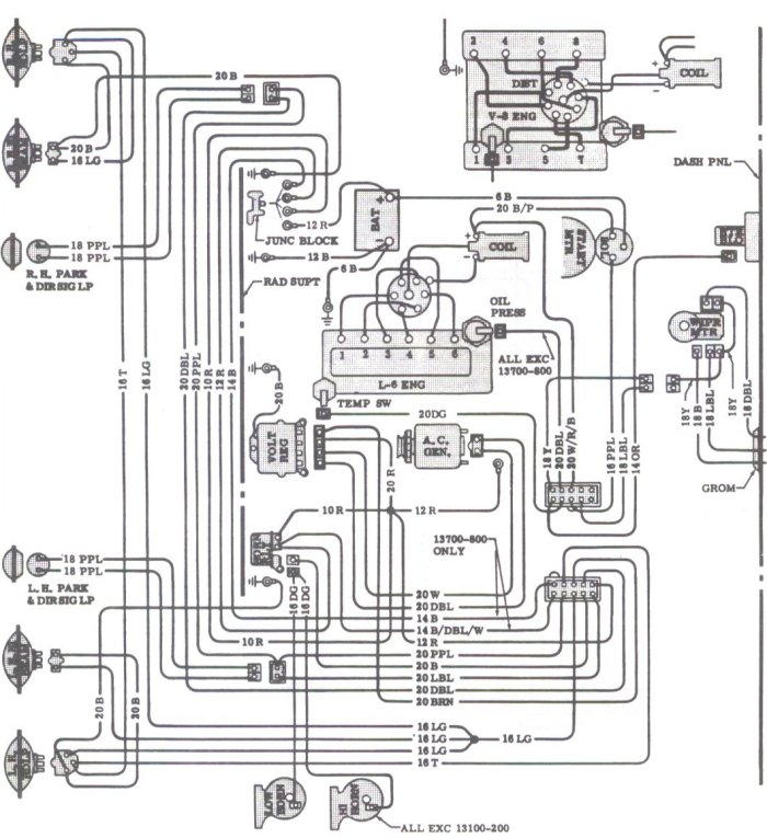 71 chevelle dash wiring diagram