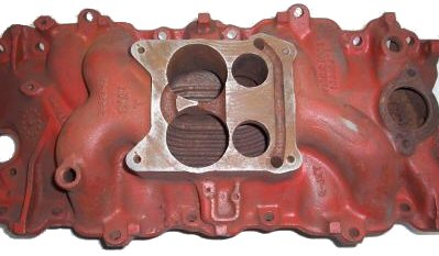 What Is An Intake Manifold >> Fuel System (Intake Manifolds) ~ 1966 Chevelle Reference CD
