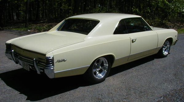 4 Door Convertible >> Malibu Gallery ~ 1967 Chevelle Reference CD