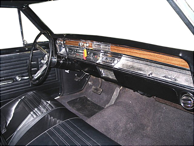 custom instrument panel for 1967 chevelle