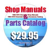 1964-1972 Shop Manuals and Parts Book