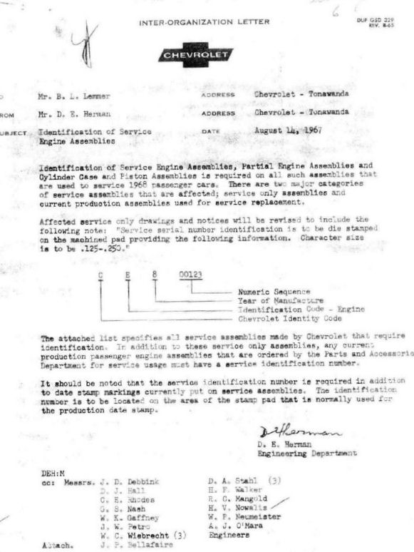 Miscellaneous Chevellestuff Information