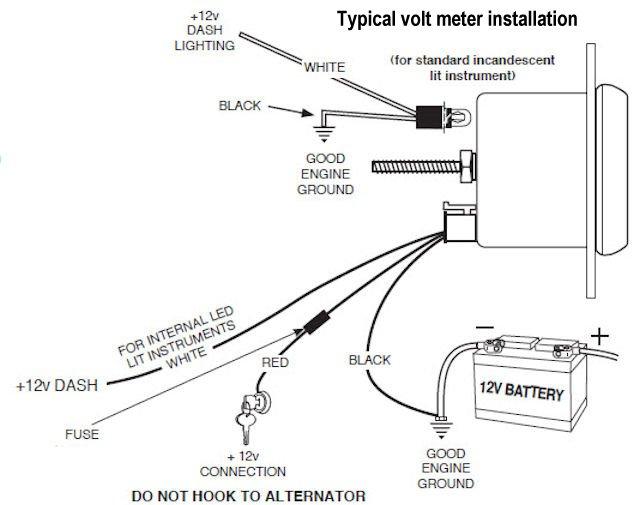 voltmeter gauge wiring schematic bosch fuel gauge wiring diagram schematic holley electric choke