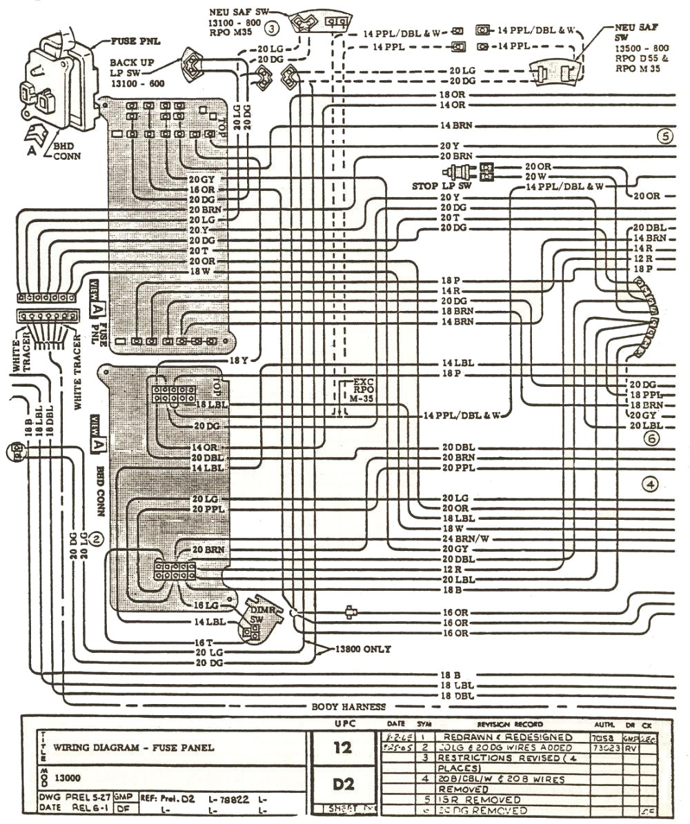 1966 Chevelle Wiring Diagram Online Diagrams Fuse Box 1969 Readingrat Net Dash Removal