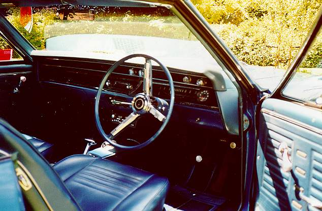 Interior ~ 1967 Chevelle Reference CD
